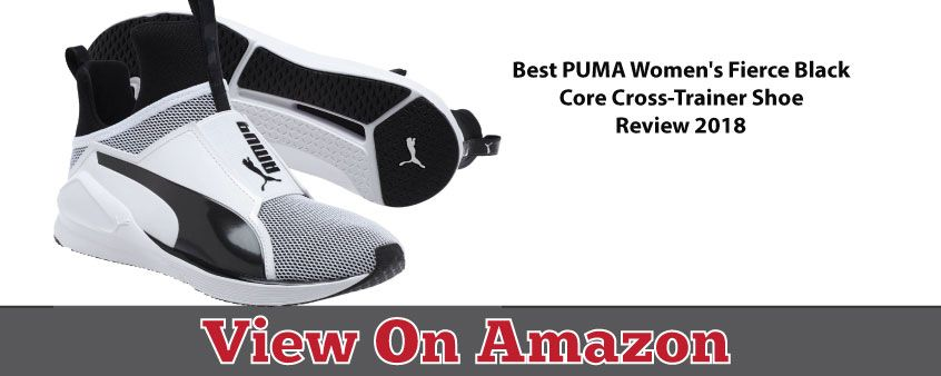 PUMA Fierce Black Core women Cross-Trainer Shoe