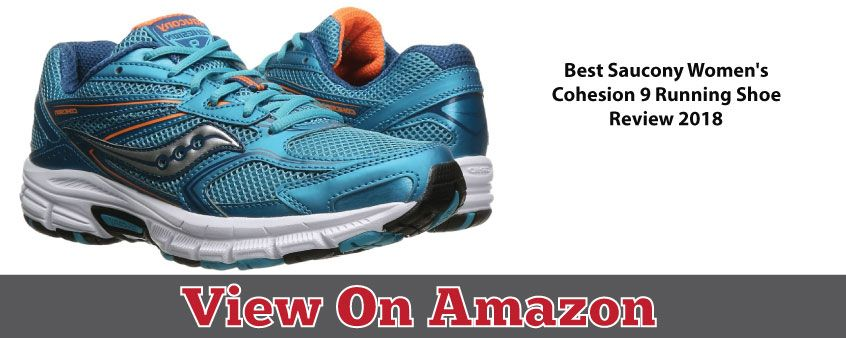 Saucony Cohesion 9 Women Running Shoe