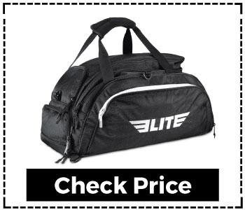 Elite Sports Warrior Boxing MMA BJJ Gear Gym Duffel Backpack Bag