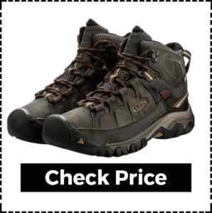 Mid Height Men's Keen Hiking Boots