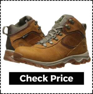 Timberland Mt. Maddsen Leather Hiking Boots