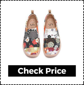 UIN Blossom Women's Fashion Floral Art Sneaker